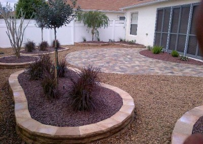 Villa w-pavers & rock (1)